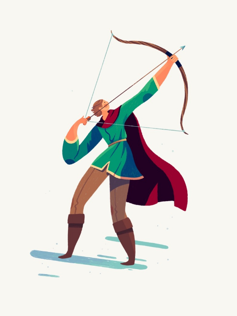 Image of an Archer by Jarom Vogel